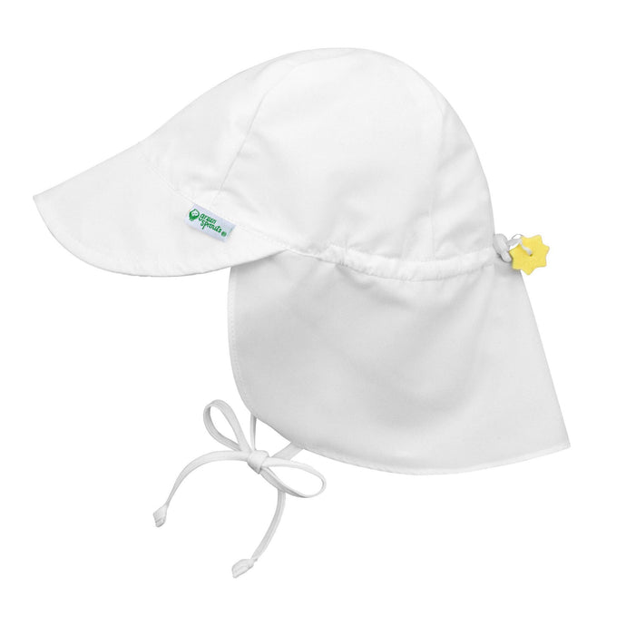 Flap Sun Protection Hat White