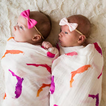 Load image into Gallery viewer, Florida Swaddle Pink