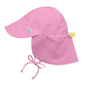 Flap Sun Protection Hat Light Pink