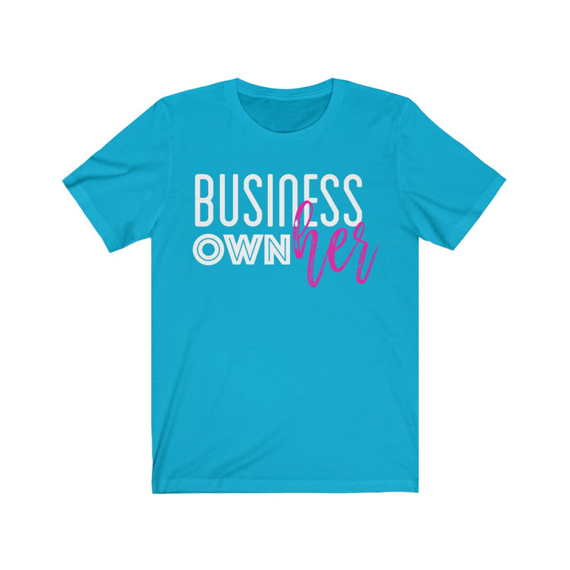 Business OwnHer Jersey Short Sleeve Tee