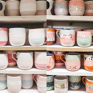 HANDMADE POTTERY MUGS AND TOGOCUPS
