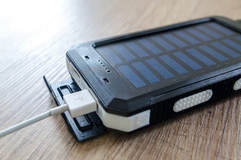 power bank with solar panel