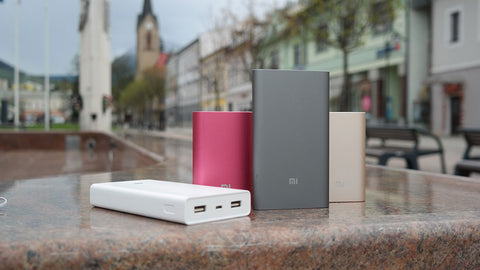 power banks size and weight