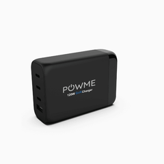 120W black desktop charger