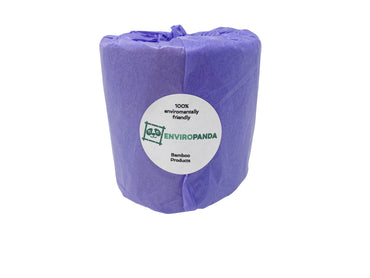 Enviropanda Bamboo Toilet Paper No Plastic 3 Ply Double Rolls Brown Color Bulk Individual Paper Wrapped No Plastics Used