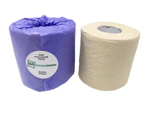 Enviropanda Bamboo Toilet Paper No Plastic 3 Ply Double Rolls Brown Color Bulk Individual Bamboo Toilet Paper Wrapped No Plastic