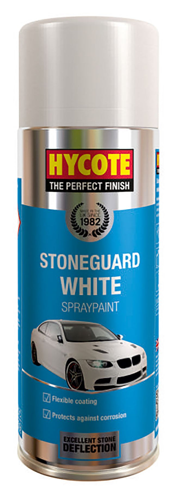 Hycote Stoneguard White Paint - 400ml
