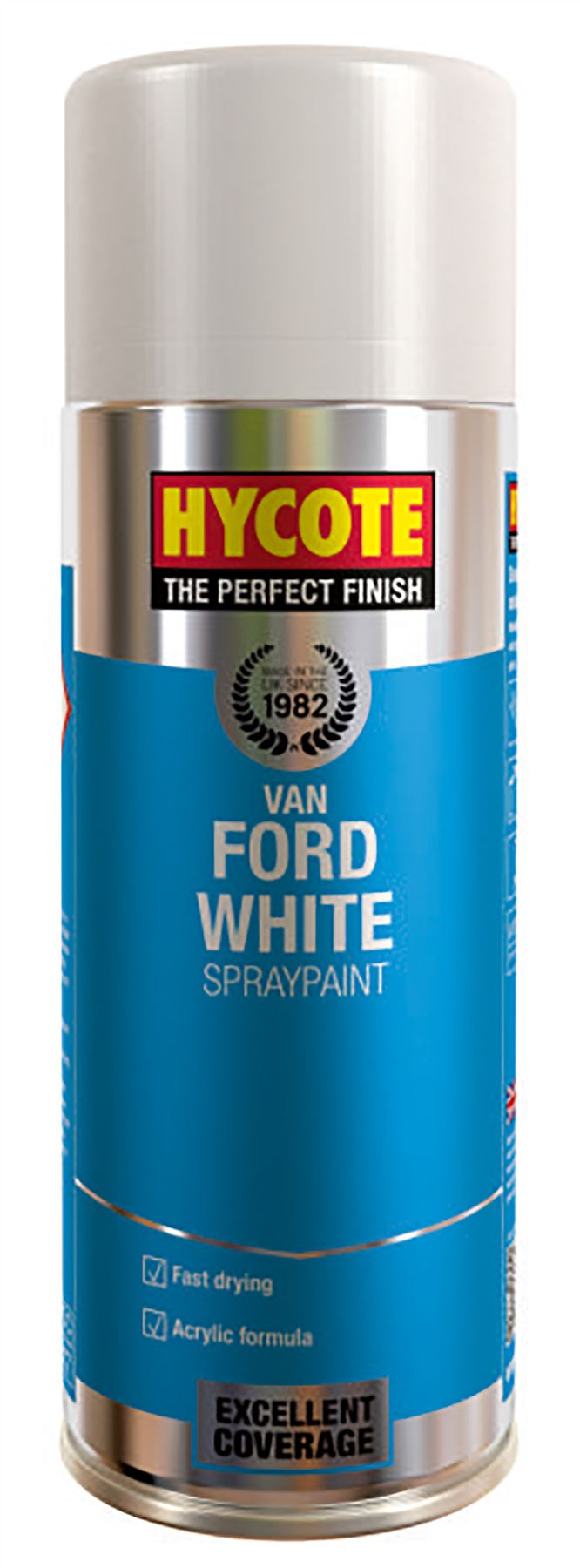 Hycote Ford Van White Paint - 400ml