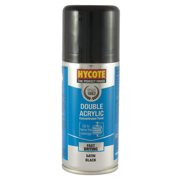 Hycote Satin Black Touch Up Paint - 150ml