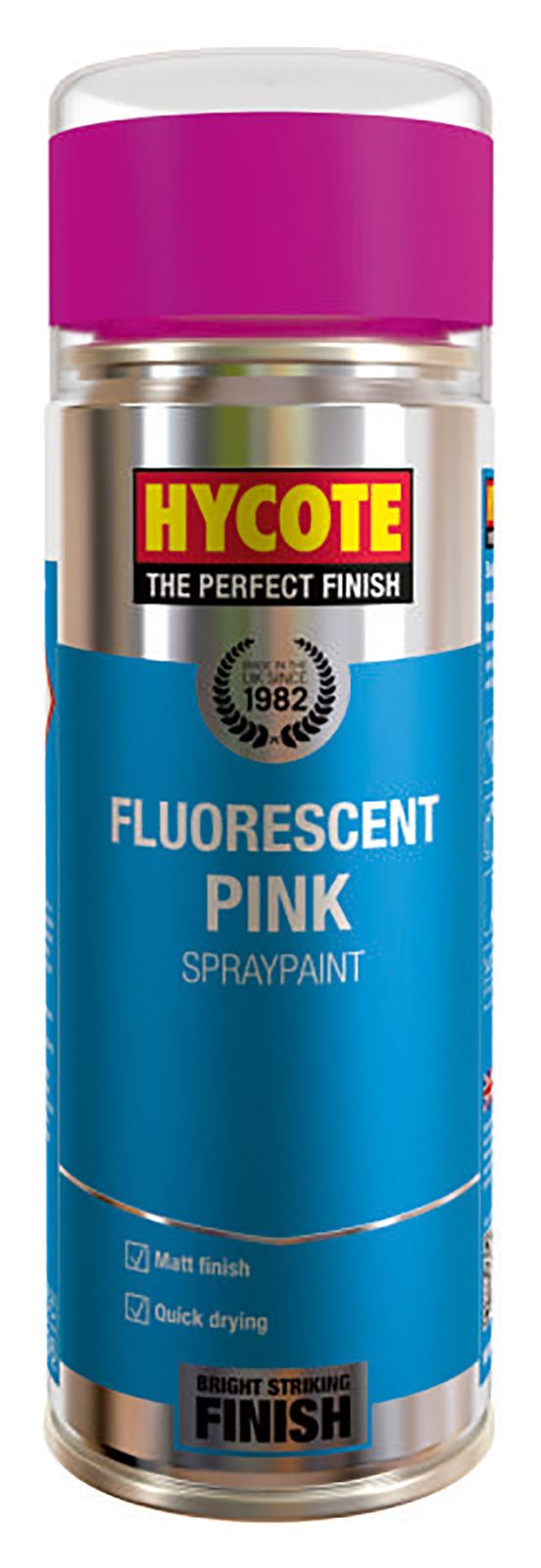 Hycote Fluorescent Pink Paint - 400ml