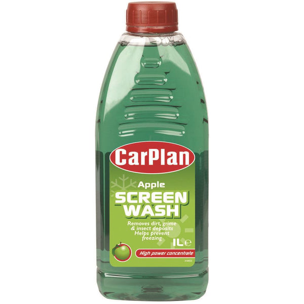 CarPlan Apple Fragranced Concentrated Screenwash - 1L