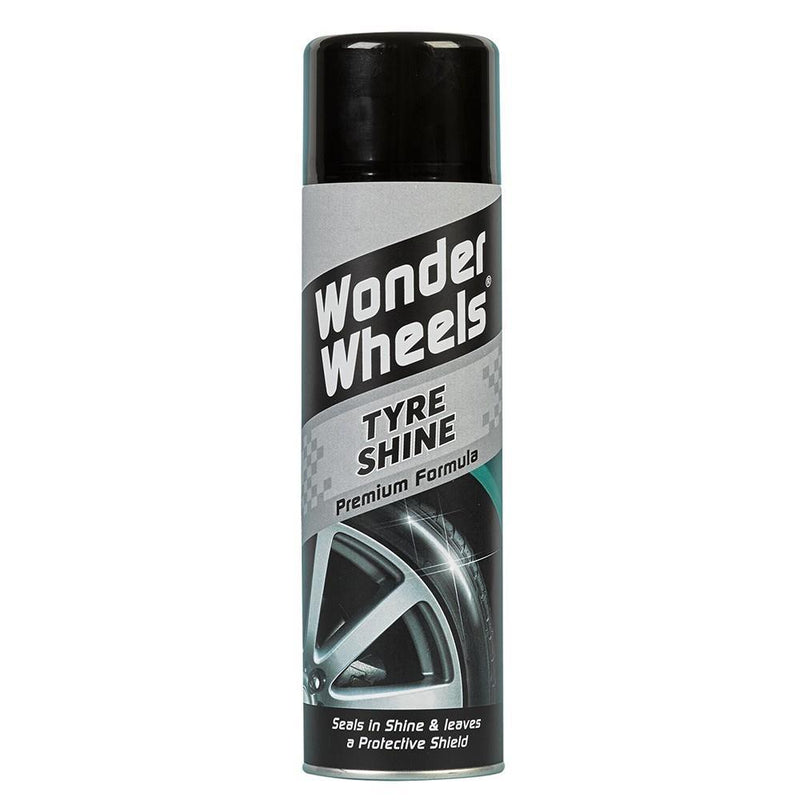 Wonder Wheels Colour Change Acid Free Wheel Cleaner, Sealant, Tyre Shine Kit