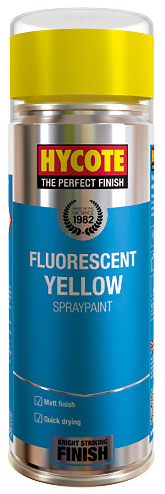 Hycote Fluorescent Yellow Paint - 400ml