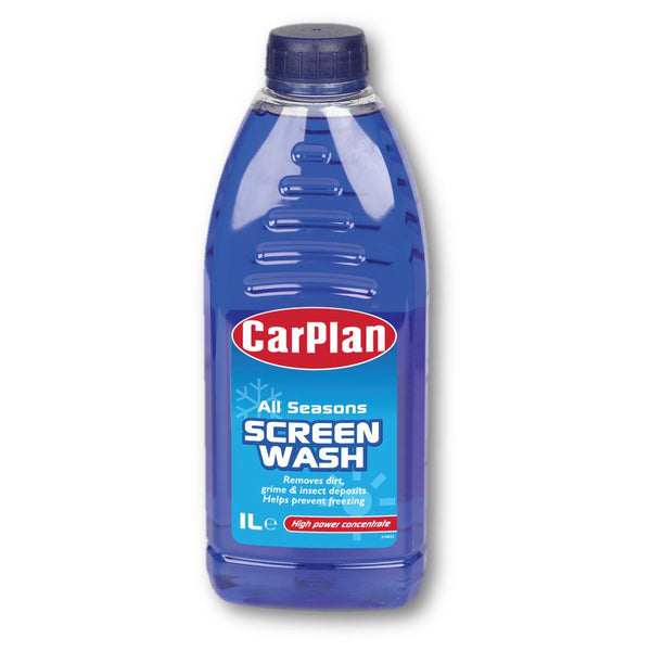 CarPlan All Seasons Concentrated Screenwash - 1L