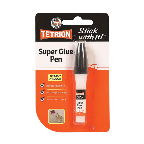 Tetrion Super Glue Pen - 3gm