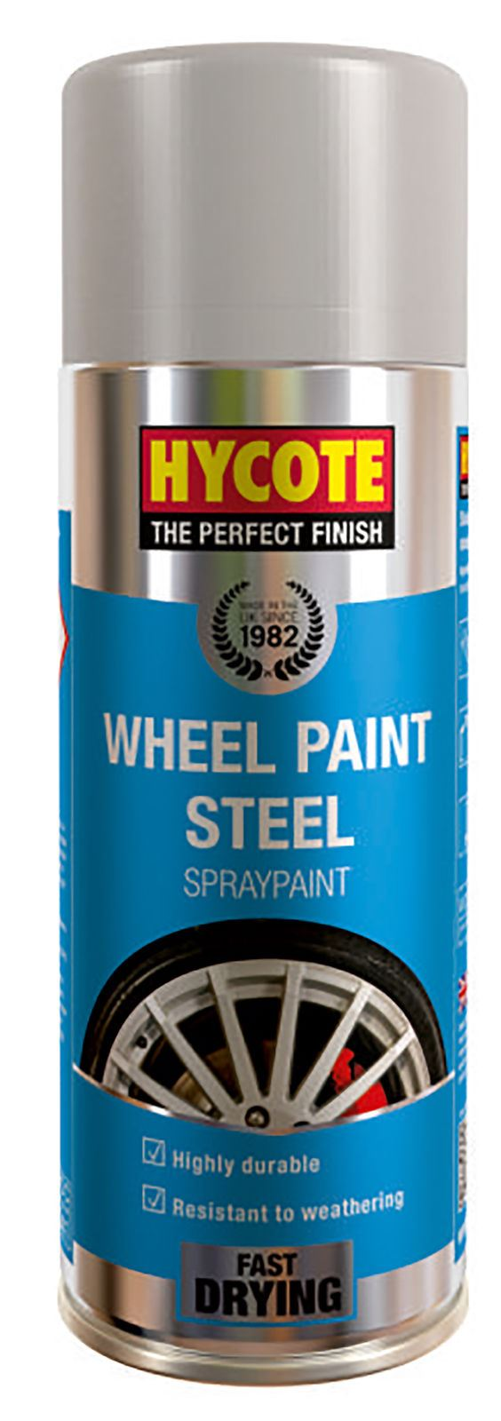 Hycote Wheel Steel Paint - 400ml