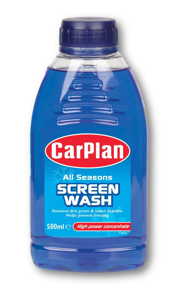 CarPlan All Seasons Concentrated Screenwash - 500ml
