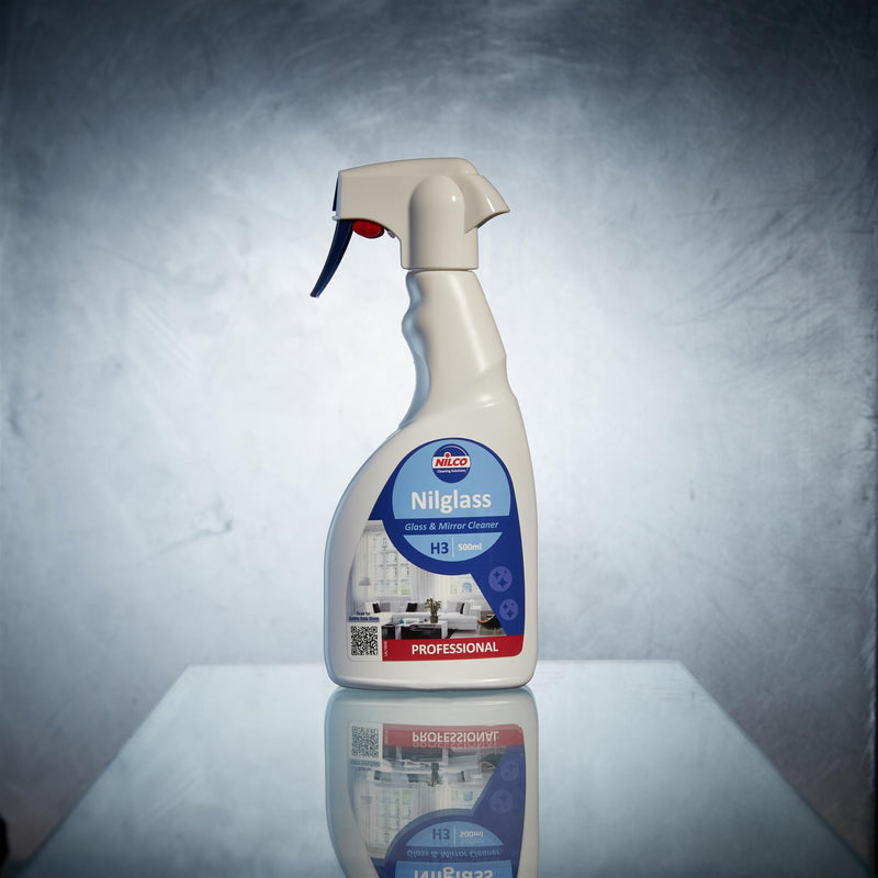 Nilco H3 Nilglass Glass & Mirror Cleaner Spray - 500ml