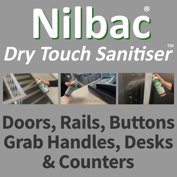 Nilco Nilbac® Dry-Touch High Contact Sanitiser - 500ml