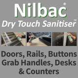 Buy One Nilbac 'Dry Touch' High Contact Sanitiser And Get A 100ml Nilco Hand Sanitiser FREE - Worth 1.99