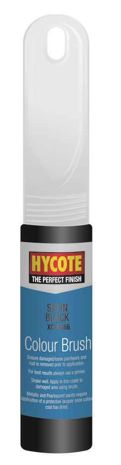 Hycote Satin Black Touch Up Paint - 12.5ml