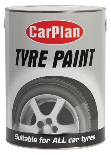 CarPlan Tetrosyl Tyre Paint - 5L