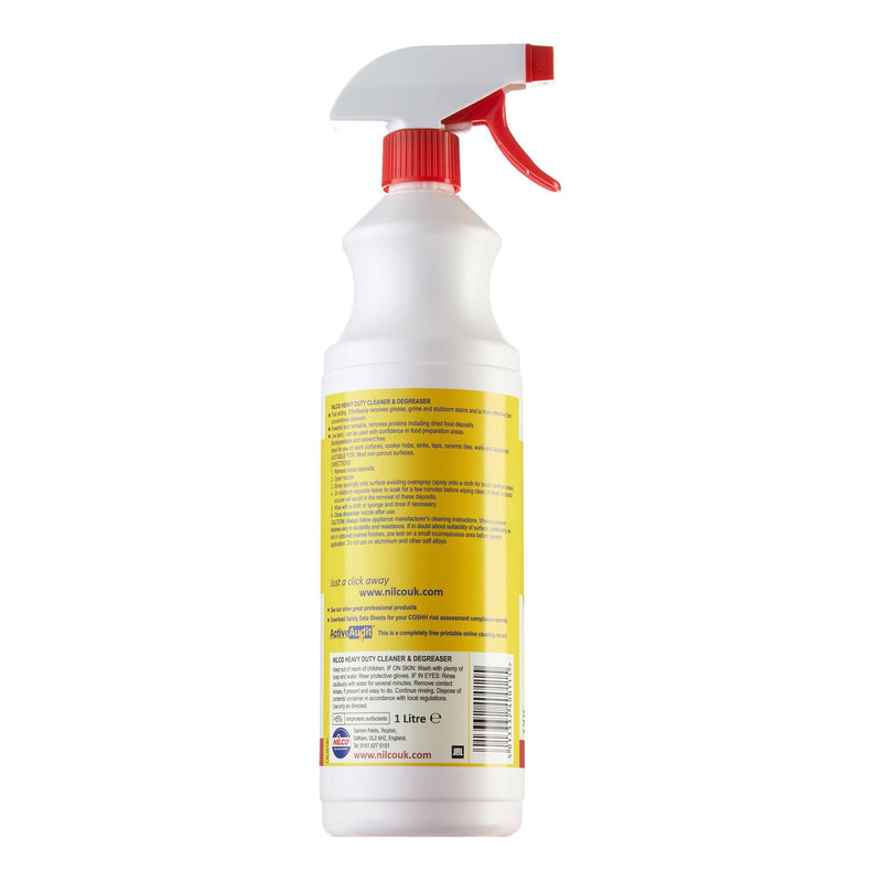 Nilco Heavy Duty Cleaner & Degreaser Spray - 1L | Case of 6 | £5.99 Each