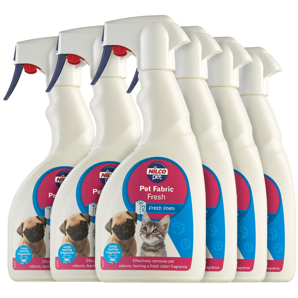 Nilco Pet Fabric Fresh Neutraliser Trigger - 500ml | Case of 6 | £4.74 Each