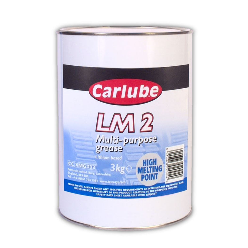 Carlube LM2 Lithium Multi-Purpose Grease - 3Kg