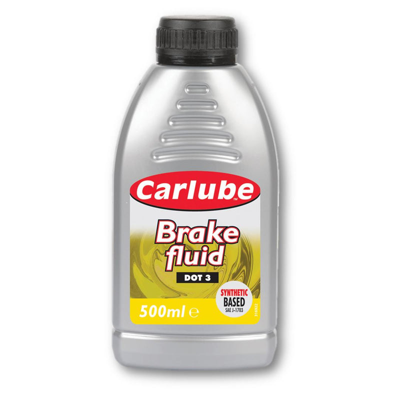 Carlube Brake Fluid DOT 3 - 500ml