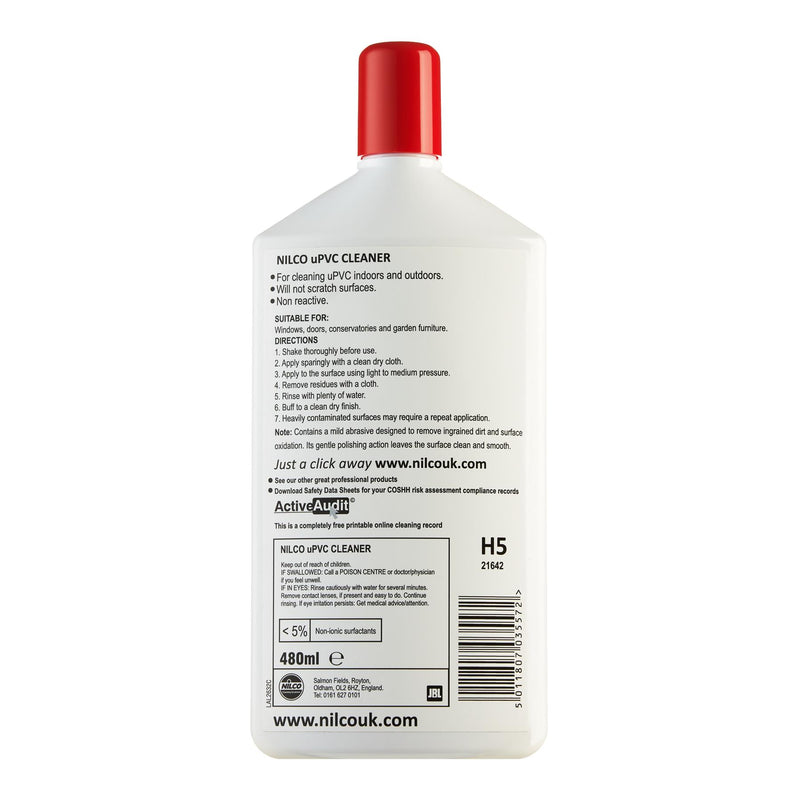 Nilco H5 UPVC Cleaner Spray - 480ml
