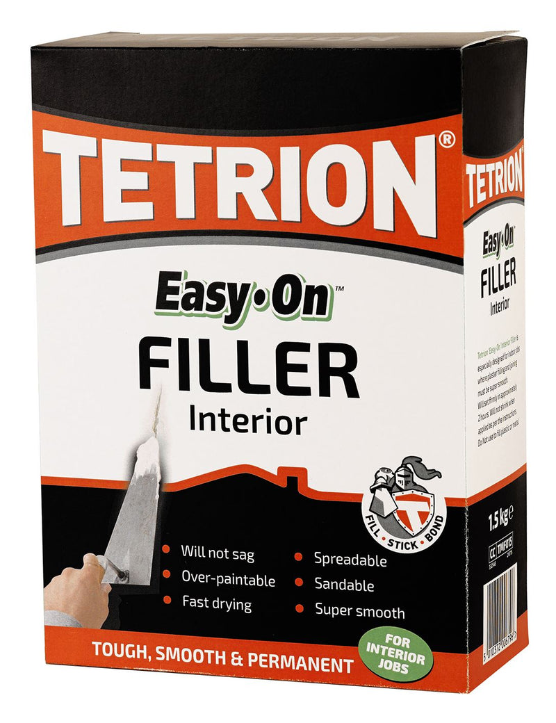 Tetrion Interior Filler Powder - 1.5Kg