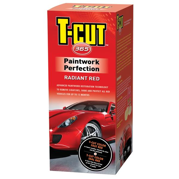 T-Cut 365 Radiant Red Paintwork Perfection Kit
