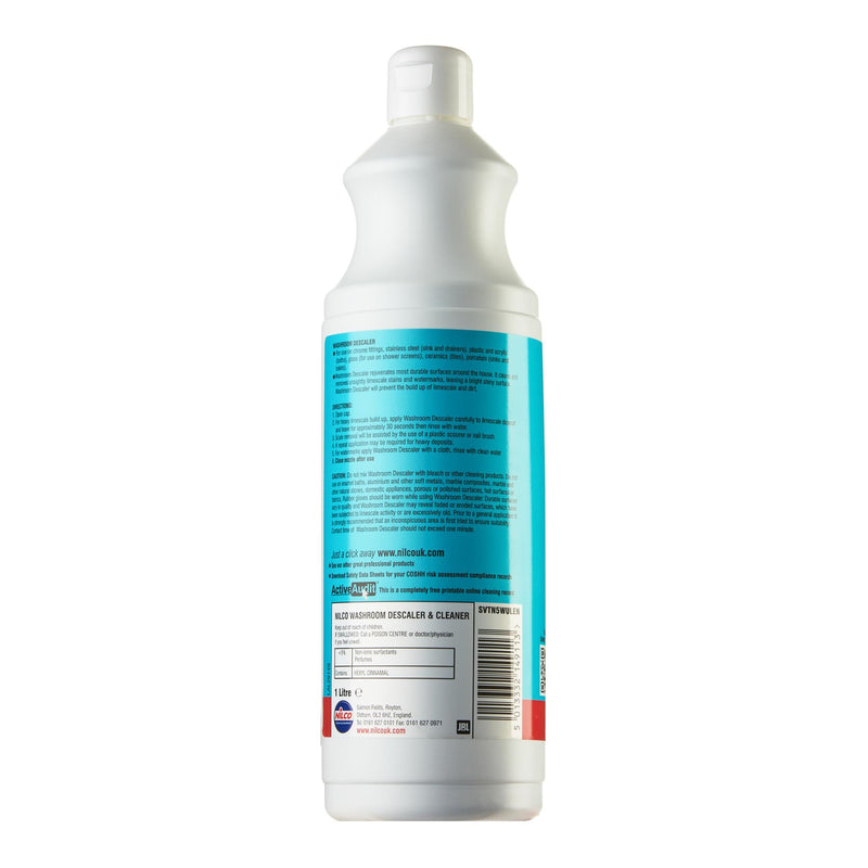 Nilco Washroom Descaler Bathroom Spray - 1L | Case of 6 | £5.14 Each