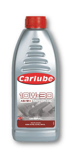 Carlube 10W-30 A3/B4 Engine Oil Mineral - 1L