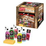 Demon 7pc Car Care Gift Pack - Includes Demon Shine, Wheels, Foam, Tyres & More
