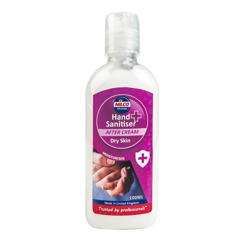 Nilco Hand Sanitiser Antibacterial Gel & After Cream 100ml Mixed Counter Top Display Unit