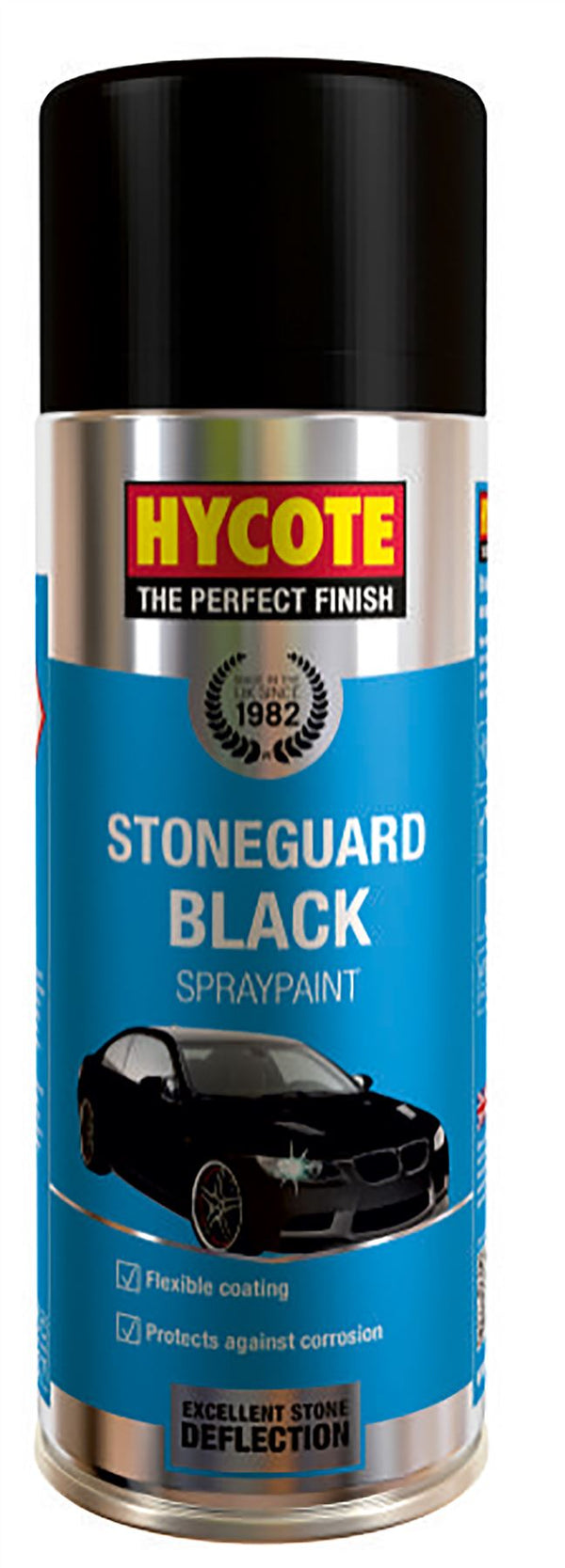 Hycote Stoneguard Black Paint - 400ml