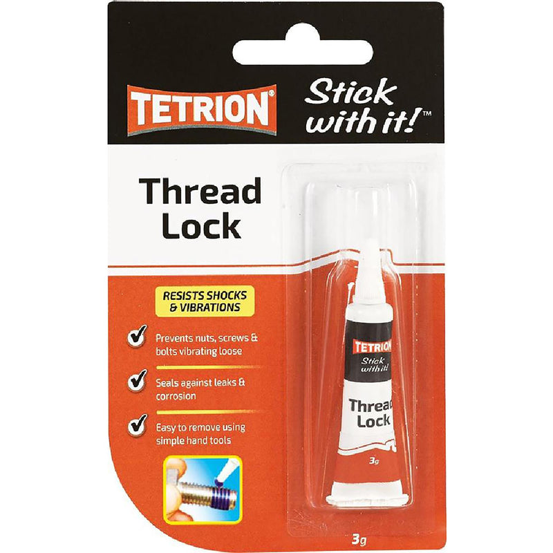 Tetrion Thread Lock Tube - 3g