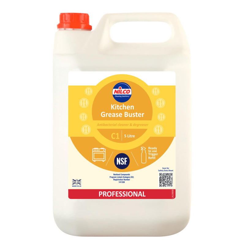 Nilco C1 Kitchen Grease Buster - 5L