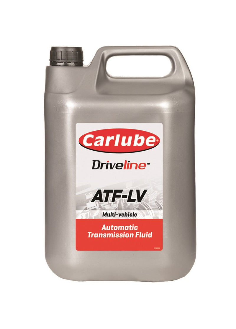 Carlube Driveline ATF-LV Automatic Transmission Fluid - Low Viscosity - 4.55L