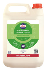 Nilco H1 Antibacterial Cleaner & Sanitiser - 5L | Case of 2 | £12.99 Each