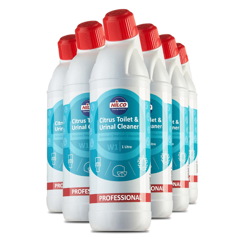 Nilco W1 Citrus Toilet & Urinal Cleaner - 1L | Case of 6 | £4.74 Each