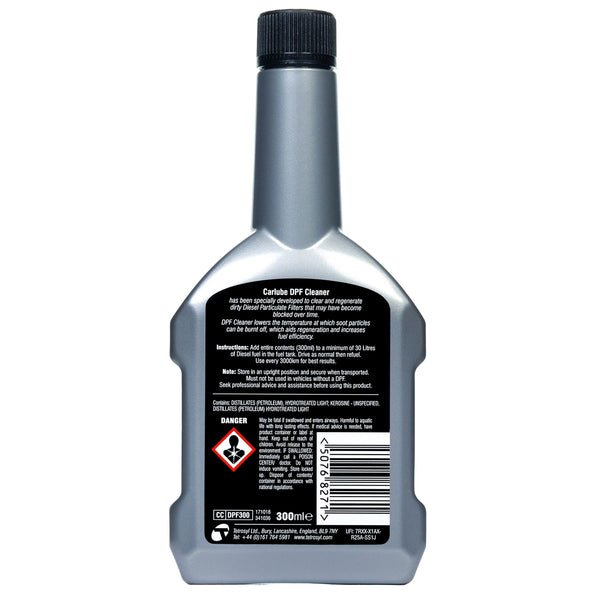 Carlube DPF (Diesel Particulate Filter) Cleaner - 300ml