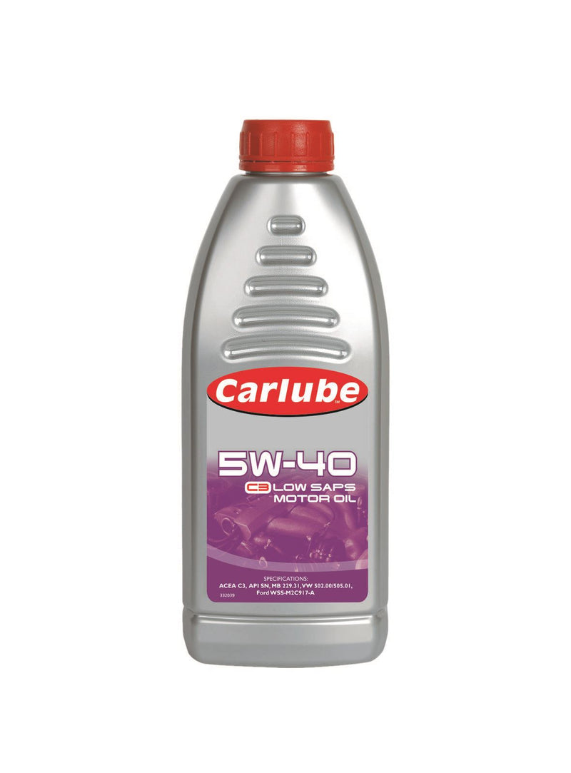 Carlube 5W-40 C3 Engine Oil Low SAPS - 1L