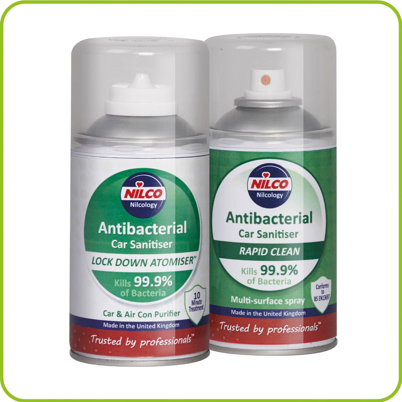 Nilco Antibacterial Car Cleaner & Sanitiser - 150ml