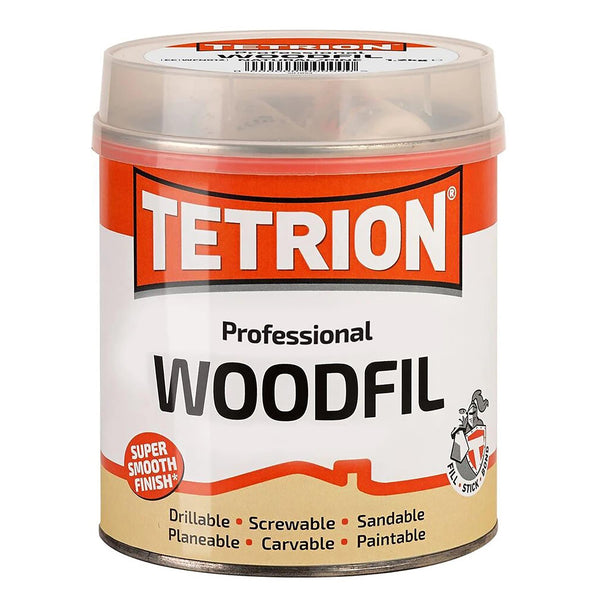 Tetrion Woodfil 2K Filler White - 1.2Kg