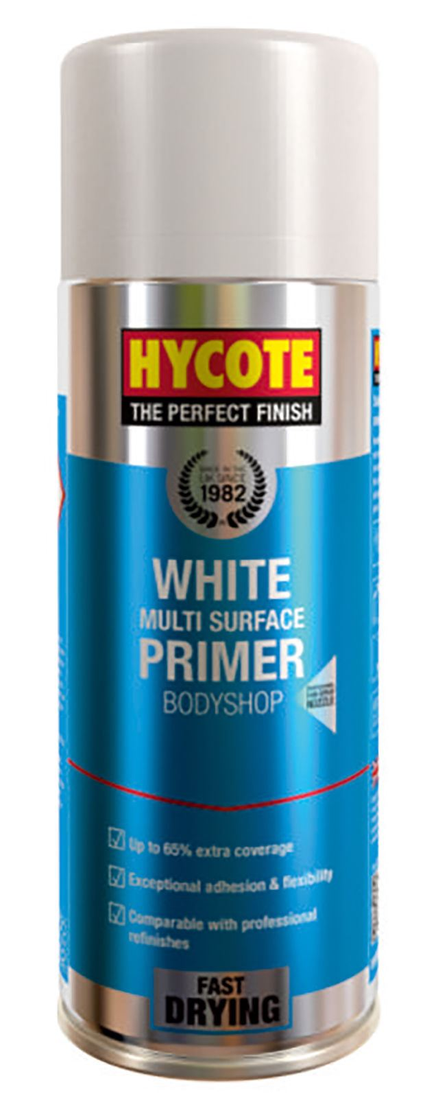 Hycote Bodyshop High Build White Paint - 400ml
