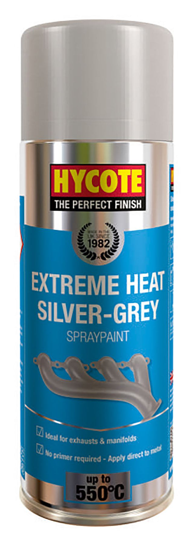 Hycote Extreme Heat Silver Grey VHT Paint - 400ml