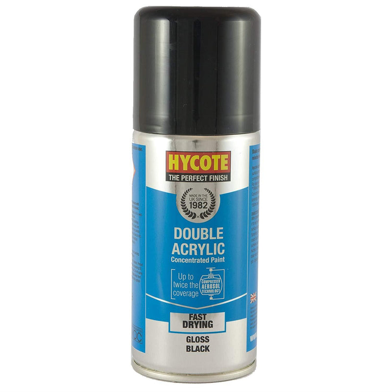 Hycote Gloss Black Touch Up Paint - 150ml